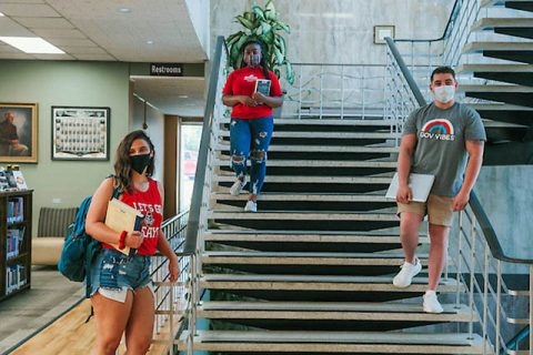 Austin Peay State University Students will wear face masks on campus this fall. (APSU)
