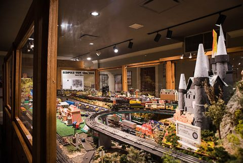 Customs House Museum and Cultural Center's Huff & Puff Express Model Trains.