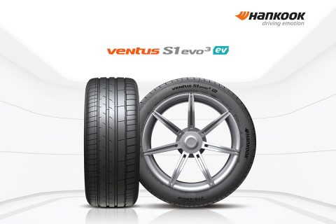 Hankook Tire is now supplying the new Porsche Taycan with its Ventus S1 evo 3 ev e-tires, which have been specially developed for the needs of electric vehicles. Hankook's Ventus S1 evo 3 ev e-tire hides a lot of technical refinements that bring the performance of electronically driven sports cars optimally onto the road.