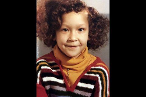 LaNeeça Williams in third grade.