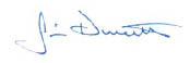 Jim Durrett Signature
