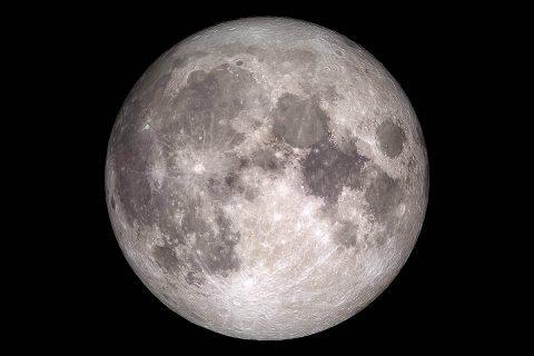 This image based on data from NASA's Lunar Reconnaissance Orbiter spacecraft shows the face of the Moon we see from Earth. The more we learn about our nearest neighbor, the more we begin to understand the Moon as a dynamic place with useful resources that could one day even support human presence. (NASA / GSFC / Arizona State University)