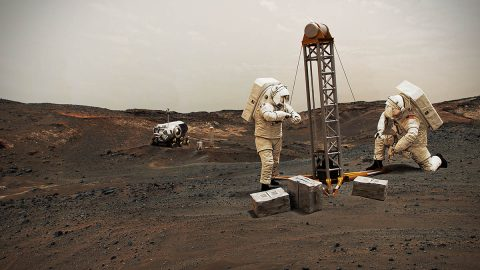 NASA works on technologies to get astronauts to Mars. (NASA)