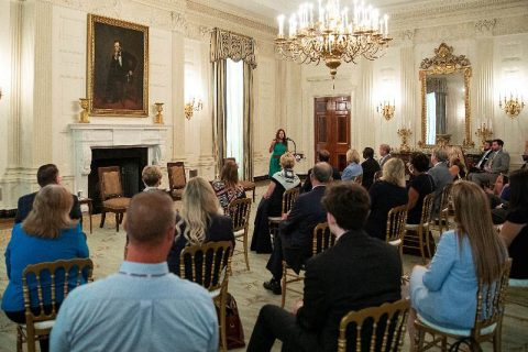 Second Lady Karen Pence delivers remarks at White House summit on Safely Reopening America's Schools