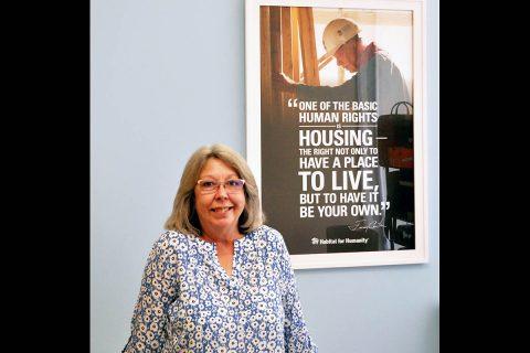 Susan Thornsberry was chosen to lead the Clarksville ReStore