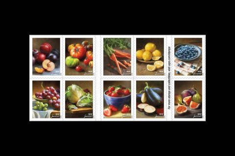 Savor the Flavor with new USPS stamps