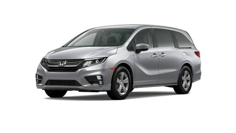 The 2020 Honda Odyssey is one of the models being recalled.