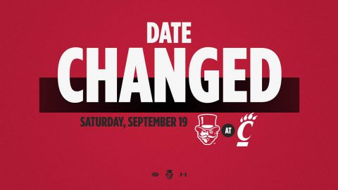 Austin Peay State University announces that the Football game at Cincinnati have been moved to September 19th. (APSU Sports Information)