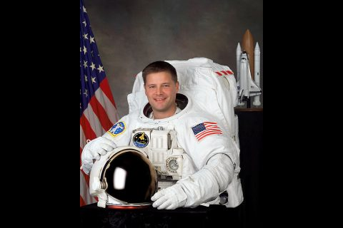 "Astronaut Doug ""Wheels"" Wheelock. (NASA)"