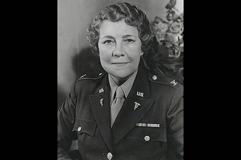 Col. Florence A. Blanchfield joined the Army during World War I and the influenza pandemic of 1918 that killed an estimated 50 million people around the world. She went on to lead the Army Nurse Corps during World War II, placing nurses in combat zones because that is where their care was needed in order to save service members' lives. In return for their dedication, she championed and obtained equal rank, pay and benefits for nurses while helping pave the way for women to follow. (U.S. Army photo)