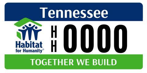 Habitat License Plate Design