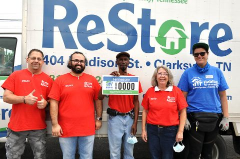 Habitat for Humanity of Montgomery County, Tennessee is now accepting pre-orders for its new specialty license plate.