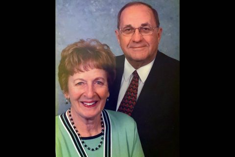James G. and Christa N. Holleman. (APSU)