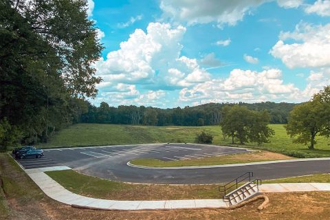 59 new spaces available at Clarksville Greenway's Pollard Road Trailhead.