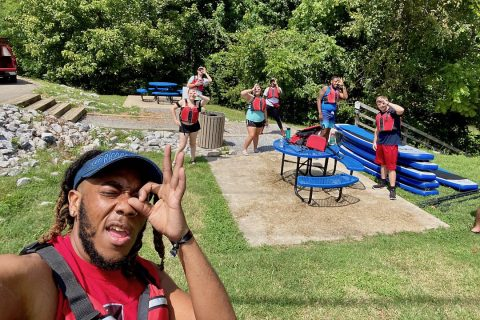Austin Peay State University hold first-ever Camp R.O.W. (APSU)
