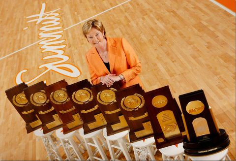 Tennessee Lady Vols Basketball Legend Pat Summitt. (UT Sports)