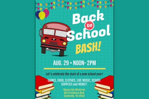 Manna Café Ministries Back to School Bash
