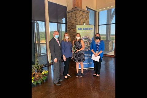 Best Overall Organization Awards: Small Organization (under 100 employees) – City of Clarksville Parks and Recreation
