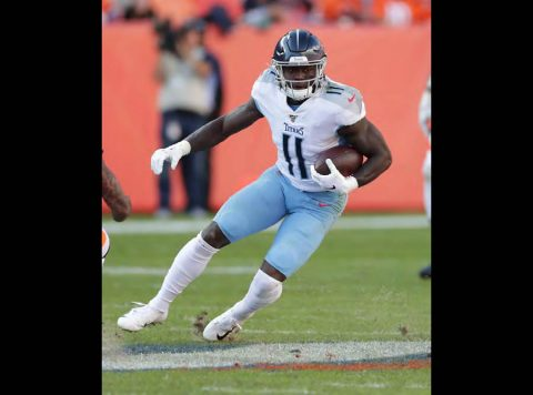 The Tennessee Titans fell to the Denver Broncos 16-0 on October 13th, 2019. (Tennessee Titans)