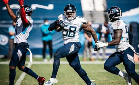Tennessee Titans look to get their third win in a row Sunday when they visit the Minnesota Vikings. (Tennessee Titans)