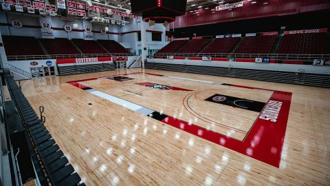 Austin Peay State University Dunn Center. (APSU Sports Information)