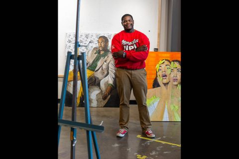 Austin Peay State University art alumni Khari Turner. (APSU)