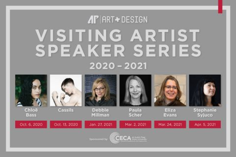 Austin Peay State University 2020-2021 Visiting Artist Speaker Series. (APSU)