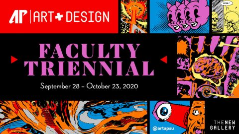 "Austin Peay State University Art + Design ""Faculty Triennial"" set for September 28th - October 23rd, 2020. (APSU)"