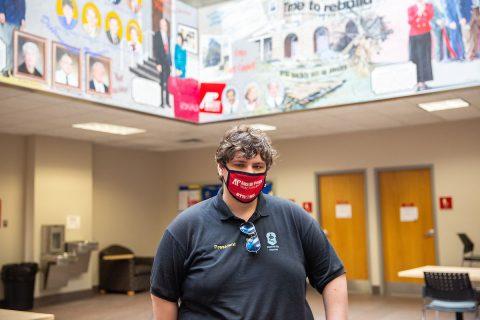 Austin Peay State University Ranked-Up Esports President Austin Stewart. (APSU)