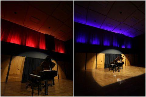 Austin Peay State University small Recital Hall. (APSU)
