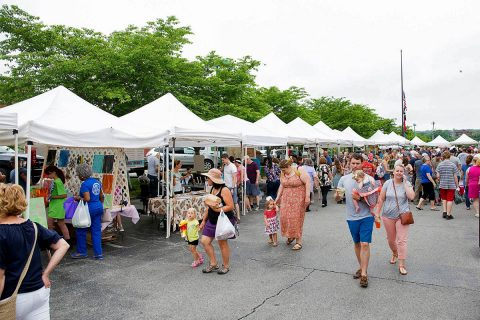Vendors, patrons and Clarksville Parks and Recreation have combined to make the Clarksville Downtown Market the '#1 Market in America.'