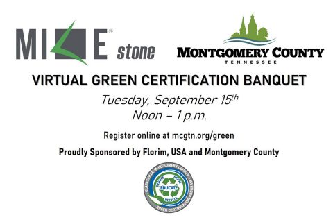 Clarksville Montgomery County Green Certification Banquet 2020