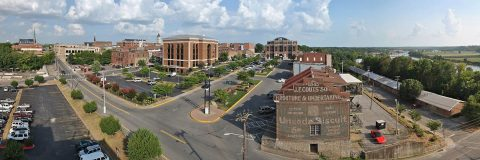 Downtown Clarksville. (Photo by David Smith)
