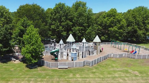 Noon Rotary Club will work on painting the Liberty Park Playground September 26th-28th.