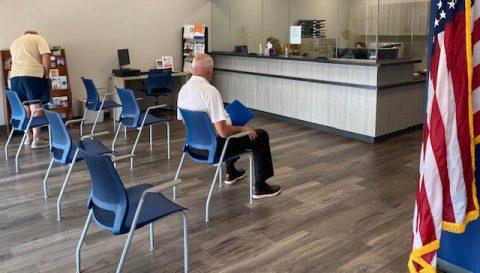 Montgomery County Veterans Service Organization Lobby