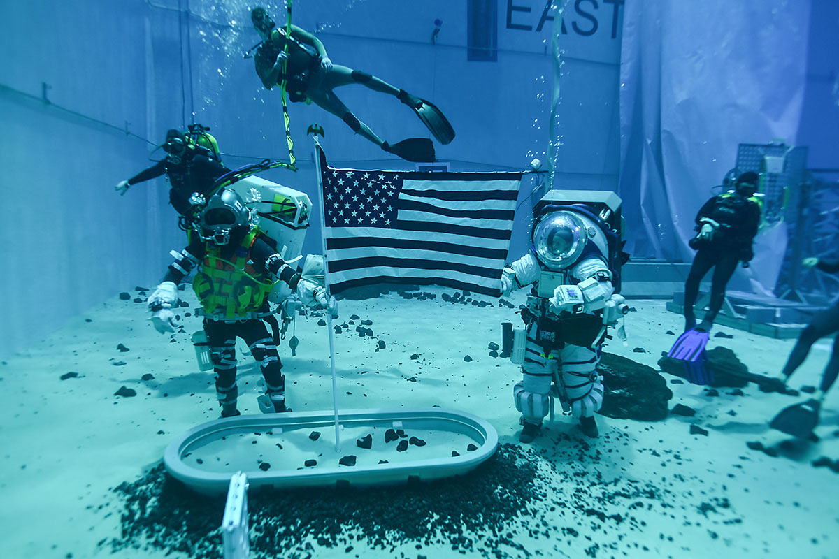 NASA will use a range of facilities to prepare for mission to the Moon. (NASA)
