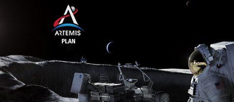 NASA's Artemis Plan to land on the moon. (NASA)