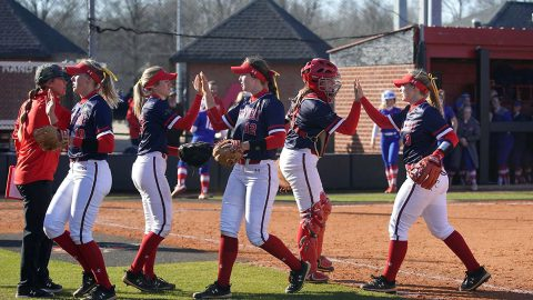 Austin Peay State University Softball to hold annual Red and Black World Series beginning today. (APSU Sports Information)