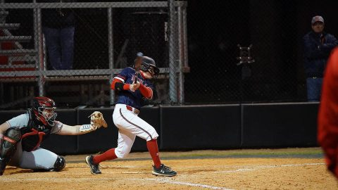 Austin Peay State University Softball's Red Team has big 3rd inning in win over Black Team. (APSU Sports Information)