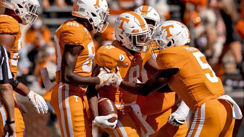 Tennessee Vols Football Set for Showdown Against Second-Ranked Alabama Crimson Tide Saturday afternoon. (UT Athletics)