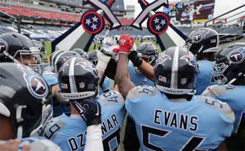 Tennessee Titans look to bounce back this week against the Cincinnati Bengals. (Tennessee Titans)