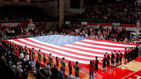 Austin Peay State University Athletics joins forces with Secretary of State to register Poll Officials. (APSU)