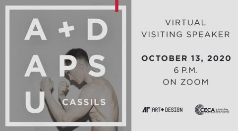 Austin Peay State University Virtual Visiting Speaker to feature Cassils, October 13th. (APSU)
