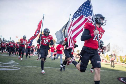 The 2019 (pre-COVID-19) Austin Peay State University Homecoming Football game. (APSU)