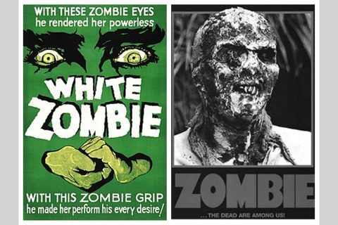 "Austin Peay State University literature class ""Zombies in Popular Film and Literature"". (APSU)"