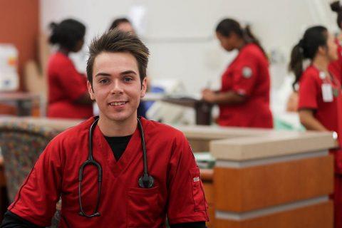 Austin Peay State University nursing student Oliver Smith. (APSU)