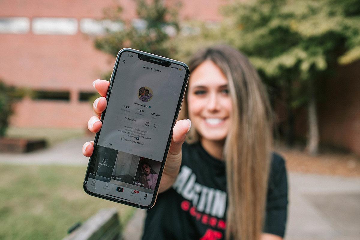 Austin Peay State University senior Jenna Pry. (APSU)