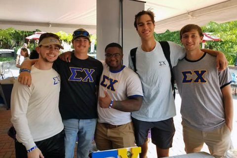 The Eta Xi chapter of the Sigma Chi Fraternity at Austin Peay State University wins National Award. (APSU)