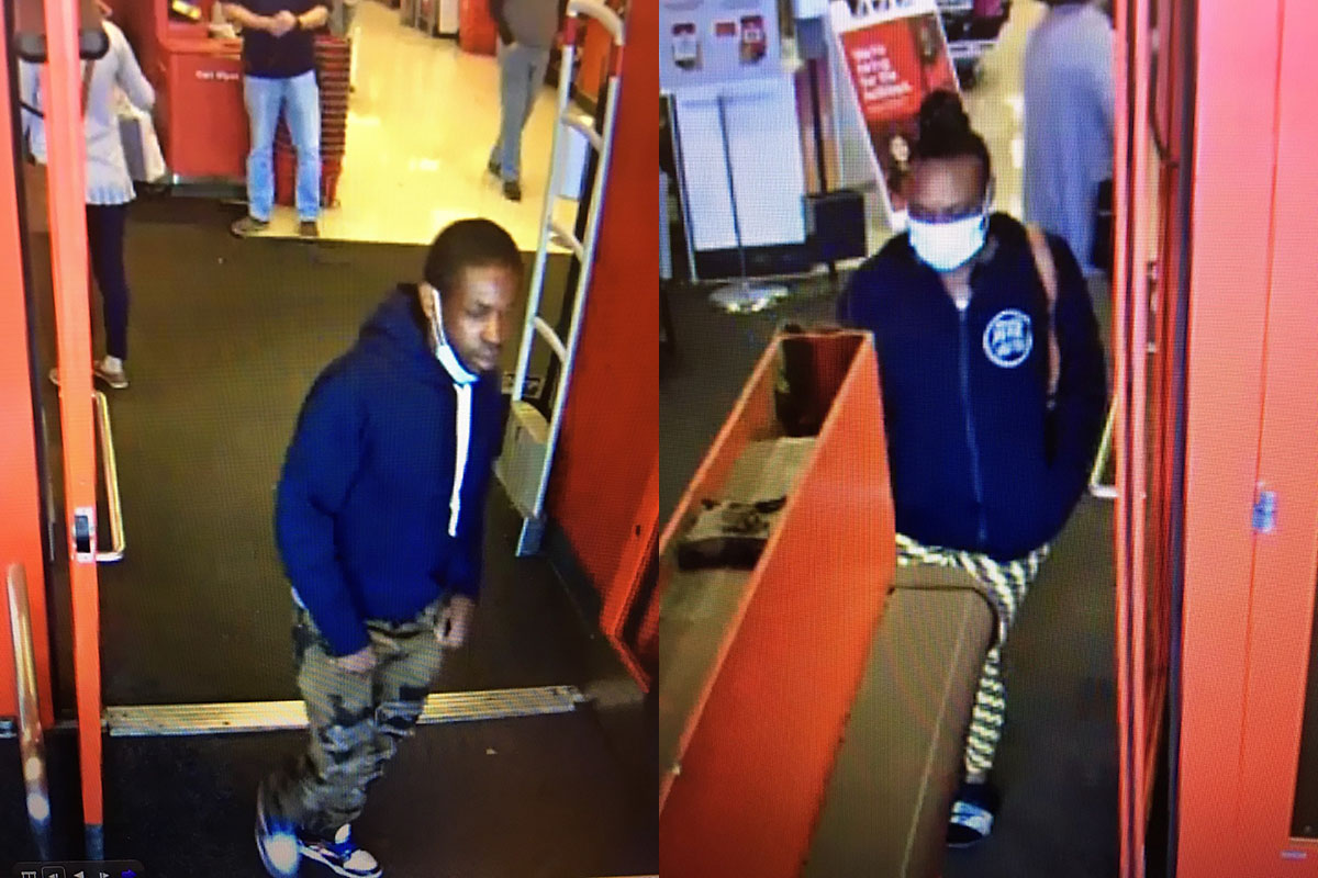 Clarksville Police are trying to identify the persons in these photos.