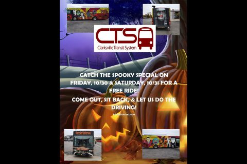 Clarksville Transit System's Spooky Special